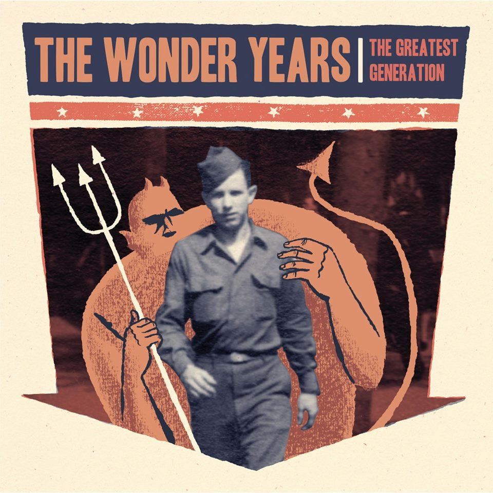 "The Wonder Years – The Greatest Generation<br>12"" Vinyl - Monkey Boy Records"