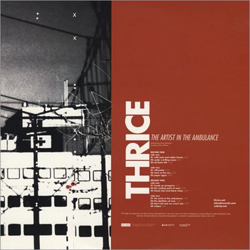 Thrice - The Artist In The Ambulance<br>Vinyl LP