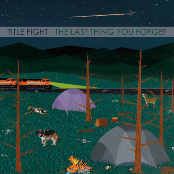 "Title Fight - The Last Thing You Forget<br>7"" Vinyl"