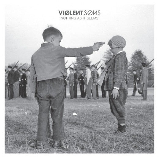 "Violent Sons - Nothing As It Seems<br>12"" Vinyl - Monkey Boy Records - 1"