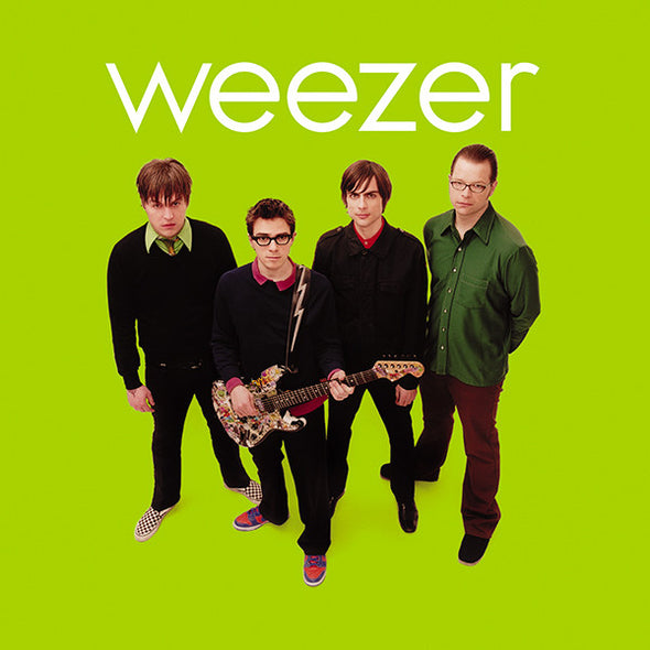 "Weezer - Green Album<br>12"" Vinyl - Monkey Boy Records"