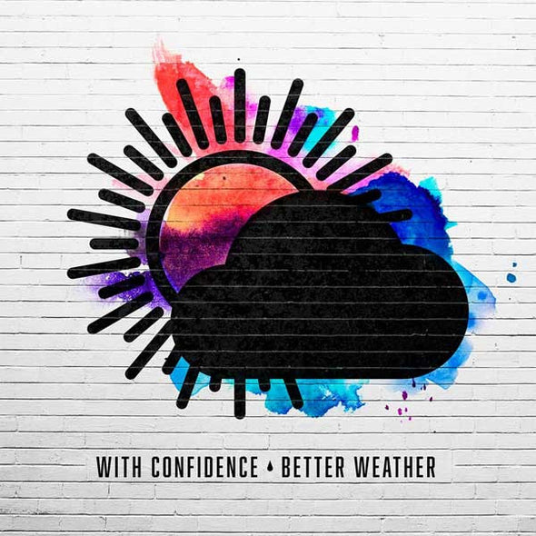 With Confidence - Better Weather<br>Vinyl LP - Monkey Boy Records