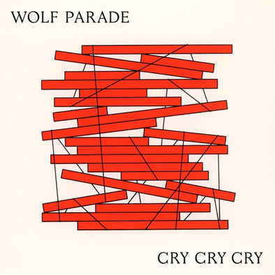 Wolf Parade - Cry Cry Cry<br>Vinyl LP