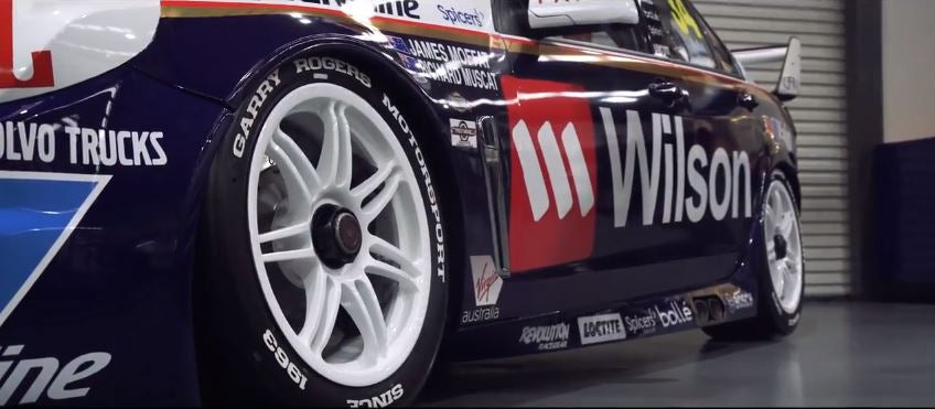 Tredwear teams up with Garry Rogers Motorsport and the V8 Supercars!