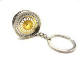 BBS Wheels Keyring - Gold -  - 3