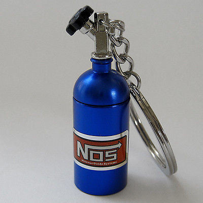 NOS Bottle Keyring - Boosted Autosports PTY LTD - 1