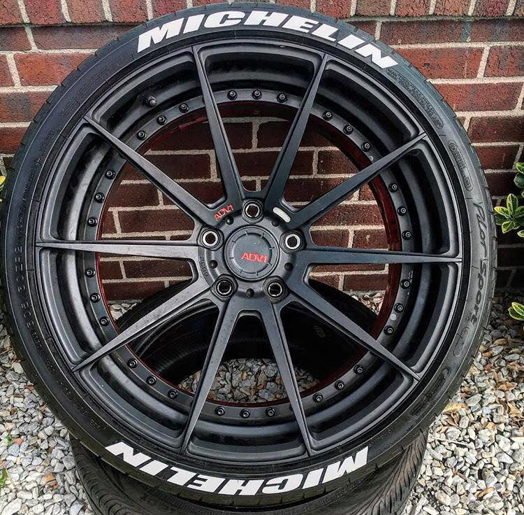 Double Michelin Race Font Series TredWear Tyre Lettering Kit - Boosted Autosports PTY LTD - 2