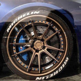Double Michelin Race Font Series TredWear Tyre Lettering Kit - Boosted Autosports PTY LTD - 5