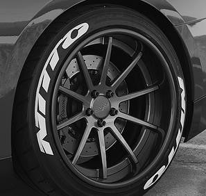 Kit 14 Designer Series TredWear Tyre Lettering Kit - Boosted Autosports PTY LTD - 1