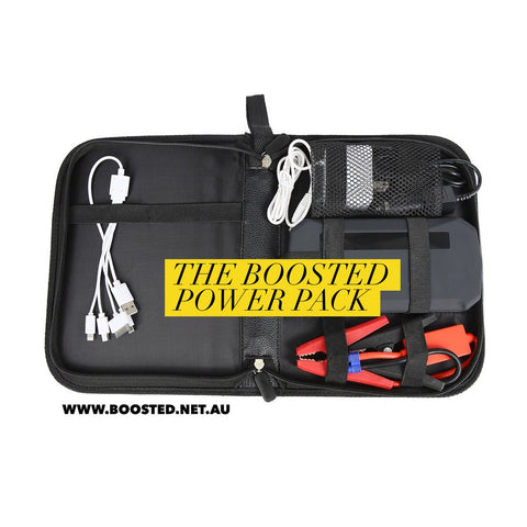 12V Portable Jump Starter + LED Torch & Device Charger -  - 1