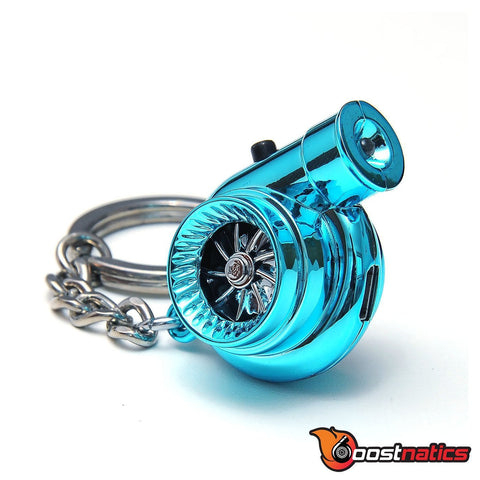 Metallic Blue - Boostnatic V5 Electronic Turbo Keychain