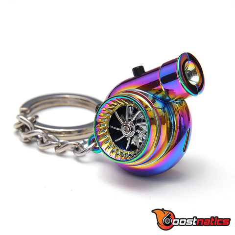 Neo Chrome Boostnatic V5 Electronic Turbo Keychain