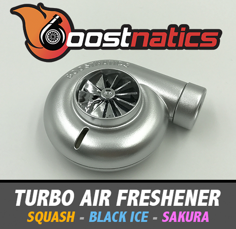 Boostnatics Spinning Turbo Air Freshener - Boosted Autosports PTY LTD - 1