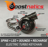Black Boostnatic V5 Electronic Turbo Keychain -