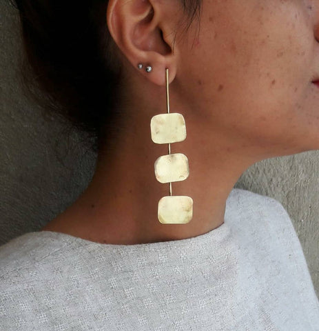 Geometry of Art Earrings