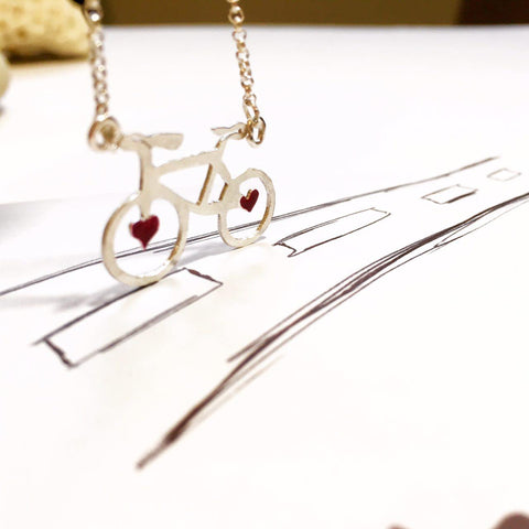 Love Wheels Necklace