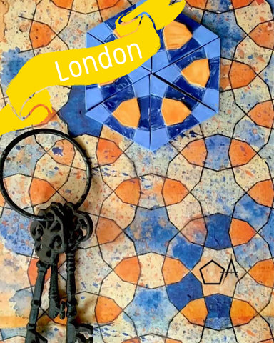 London - Traditional Persian Geometry Art Workshop 1
