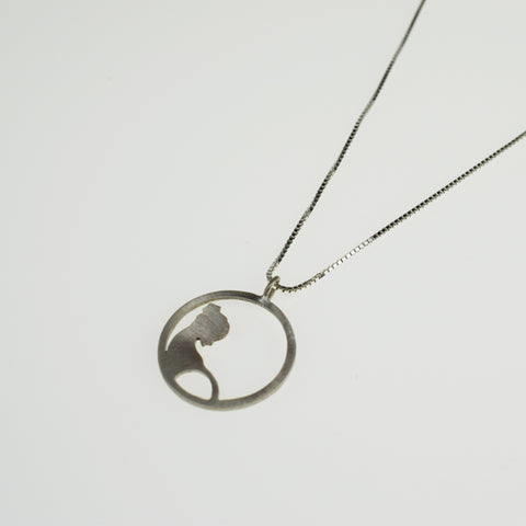 Silver Motherhood Necklace