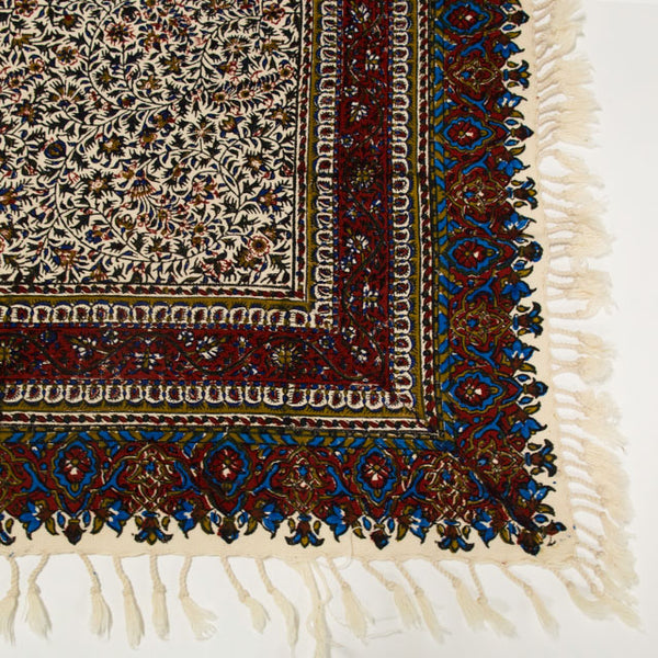 Isfahan Cretonne Throw/ Tablecloth IX