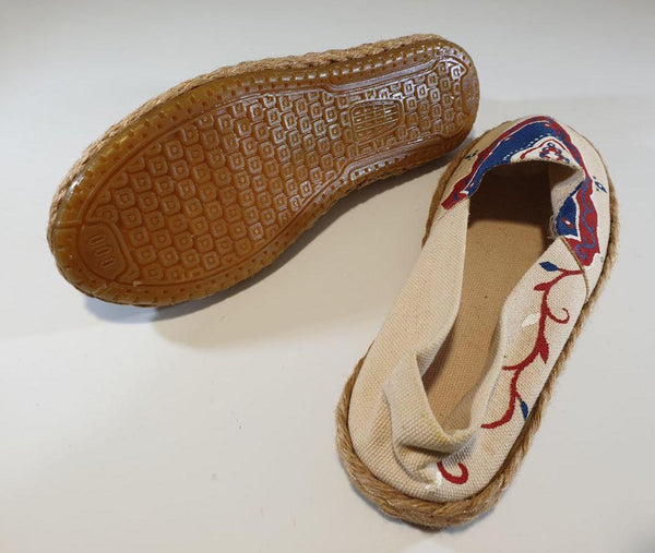 Eslimi Motif in Cream Shoes