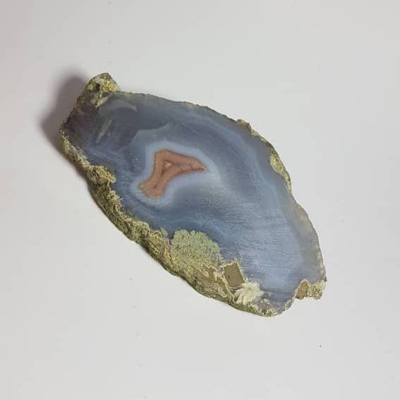 Iranian Blue Geode Agate