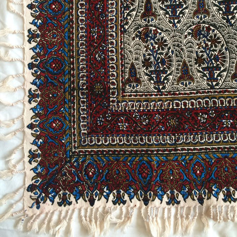 Isfahan Cretonne Throw/ Tablecloth IV