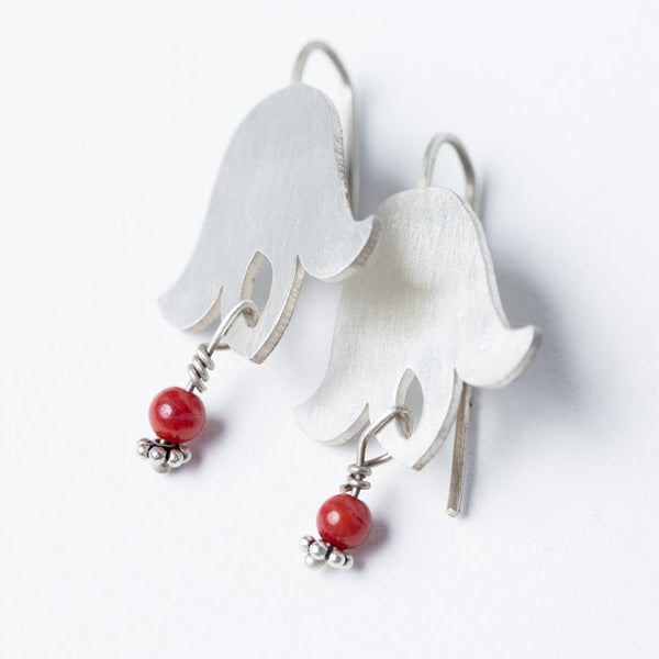 Overturned Tulips Earrings