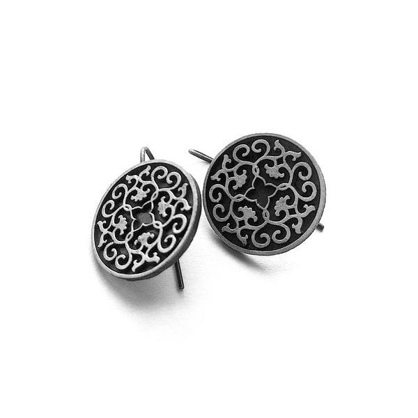 Sassanian Tile Earrings