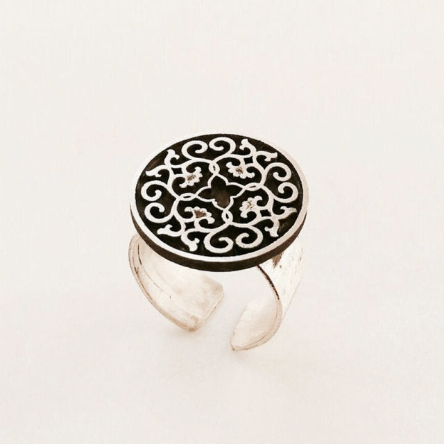 Sassanian Tile Ring