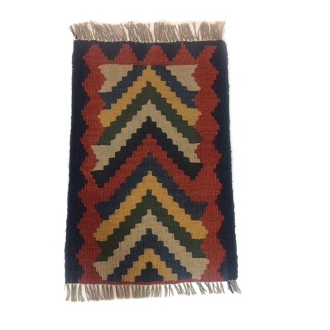 Qashqai Rug with Abstract Pattern