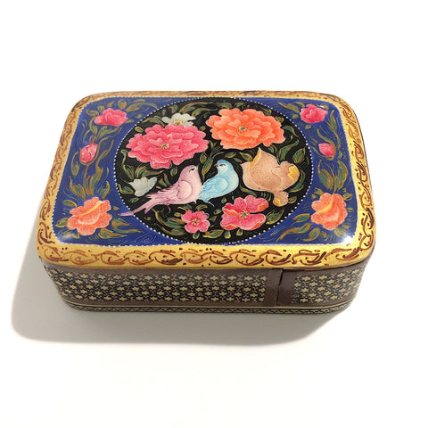 Sitting Together Khatam/Marquetry Box