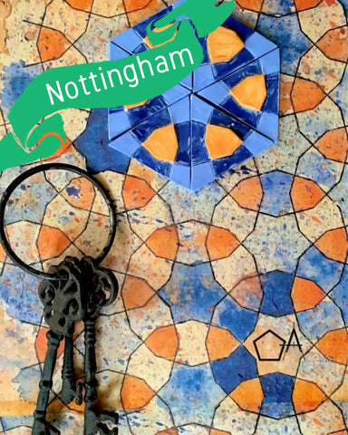 Nottingham - Traditional Persian Geometry Art Workshop 1