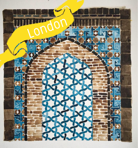 London - Traditional Persian Geometry Art Workshop 2