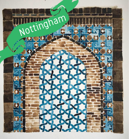Nottingham - Traditional Persian Geometry Art Workshop 2