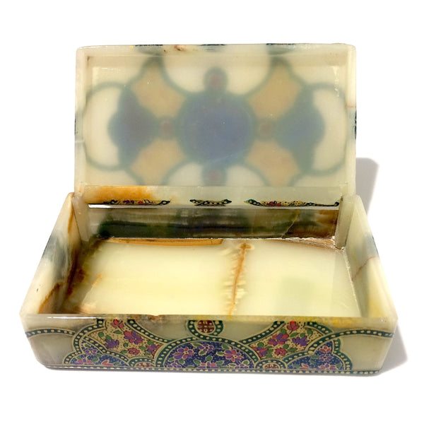 Dancing Colours Marble Box