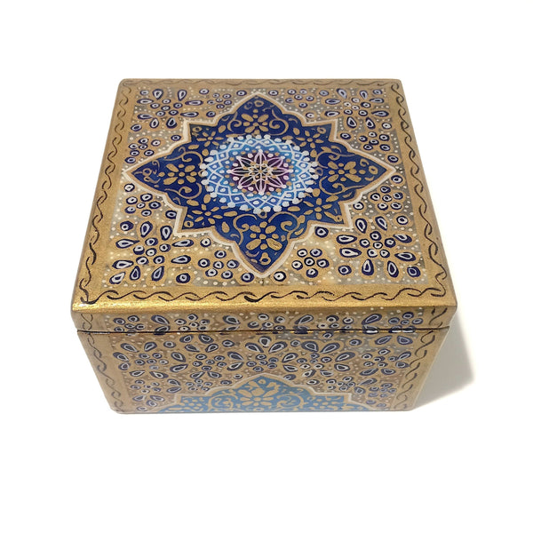 Blue's Different Shades Marble Box