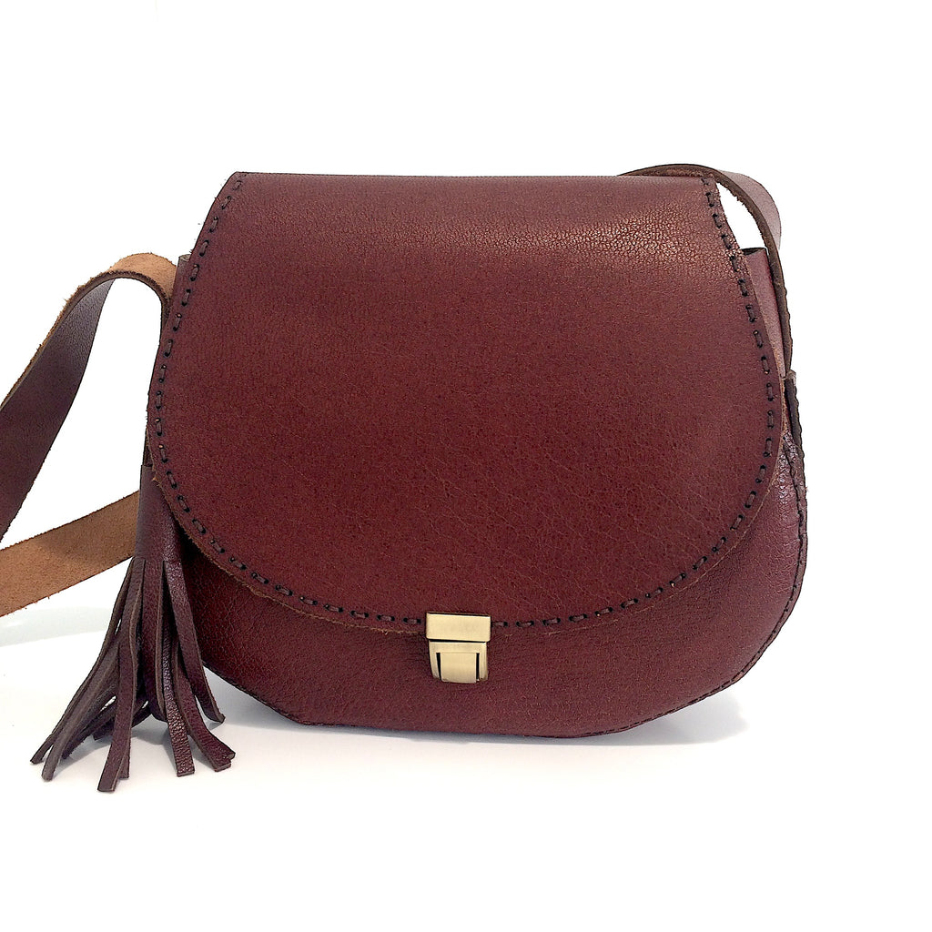Cow Leather Crossbody Bag/ Handbag