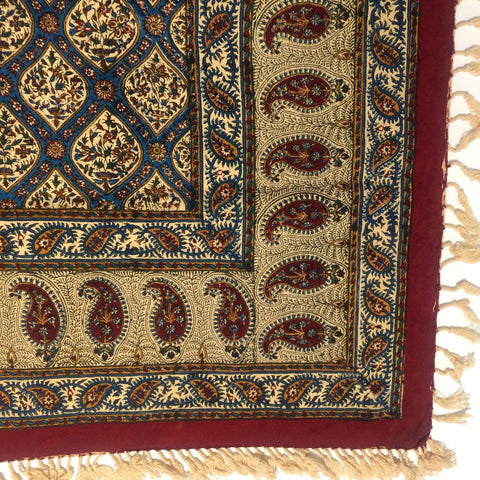 Isfahan Cretonne Throw/ Tablecloth XV