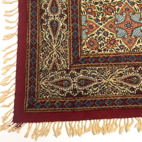 Isfahan Cretonne Throw/ Tablecloth XVI