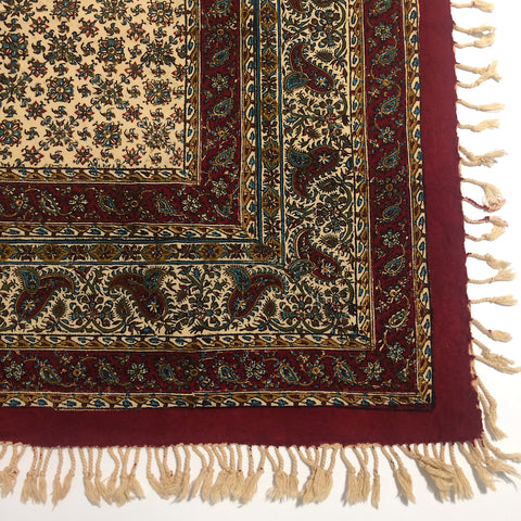Isfahan Cretonne Throw/ Tablecloth XVII