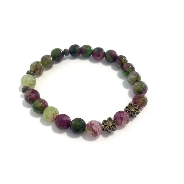 Colourful Agate Bracelet