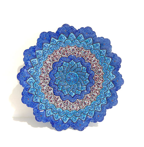 Fine Art Copper Enamel Plate