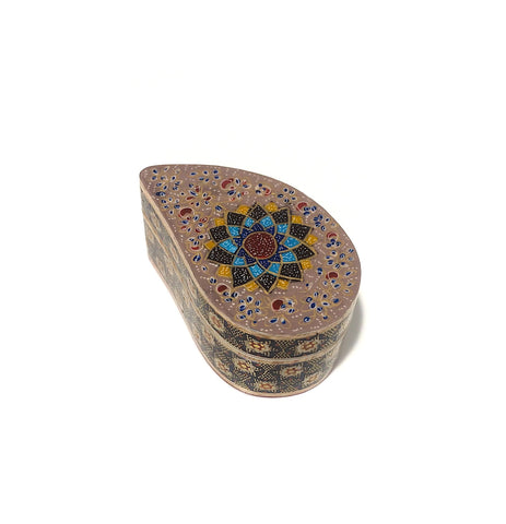 Paisely Khatam/Marquetry Jewelry/Gift Box II