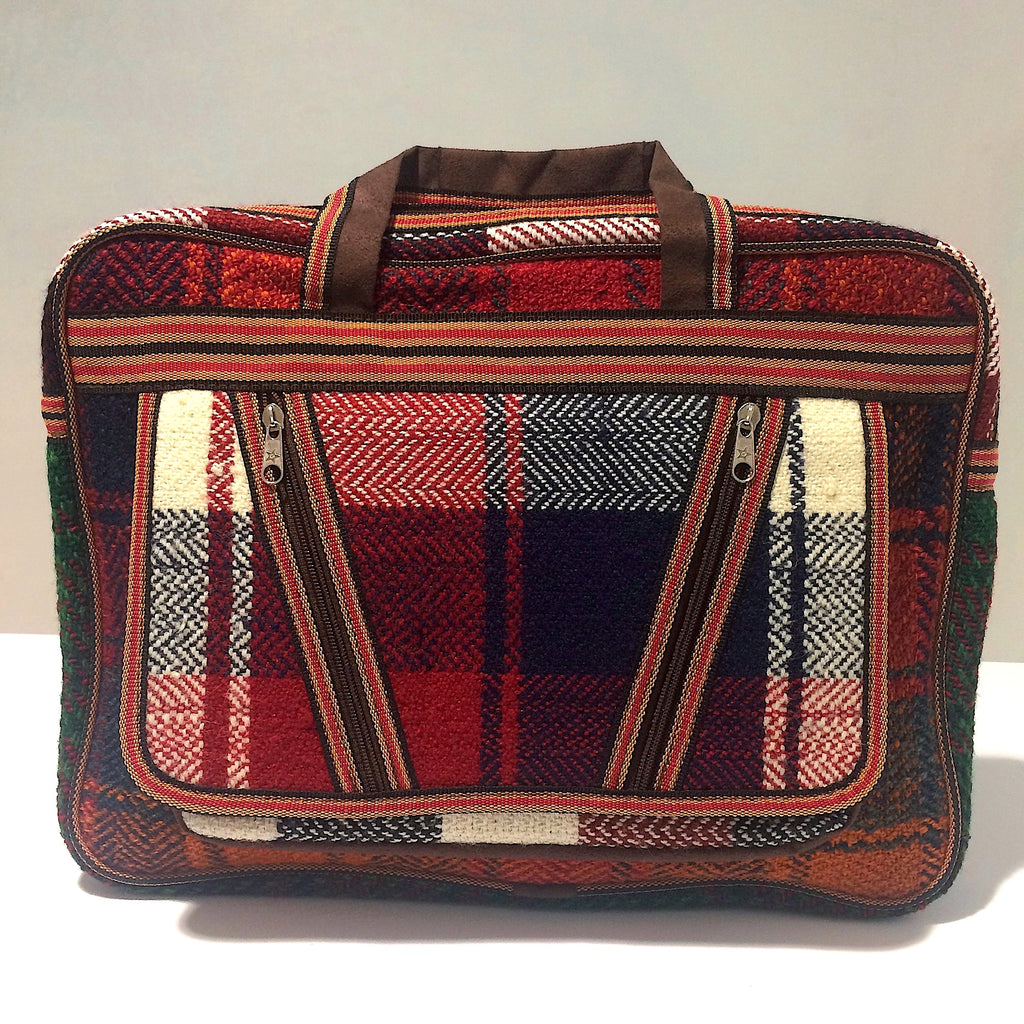 Kilim Rug Handbag with a Space for Laptop