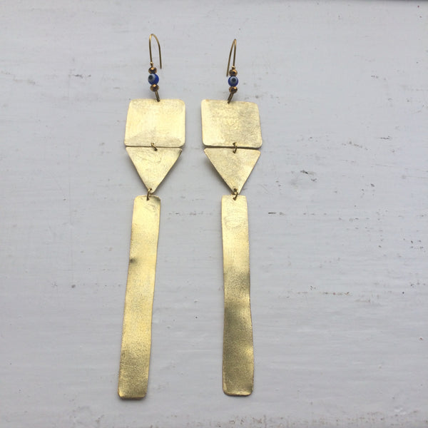 Leili Tribe Earrings with Geometry Shapes