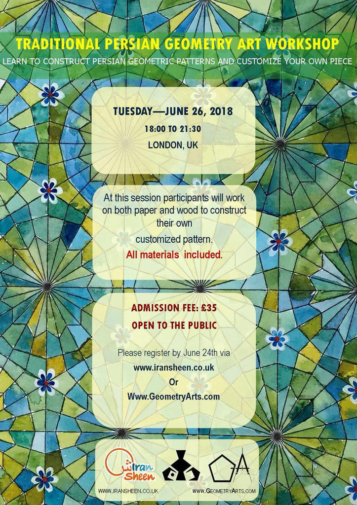 Traditional Persian Geometry Art Workshop at London
