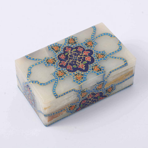 Blue Roots Marble Box