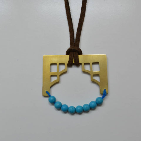 The Porch Brass Necklace