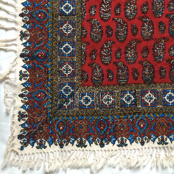 Isfahan Cretonne Throw/ Tablecloth VI