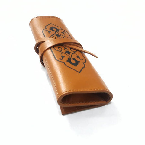 Brown Handmade Leather Pouch
